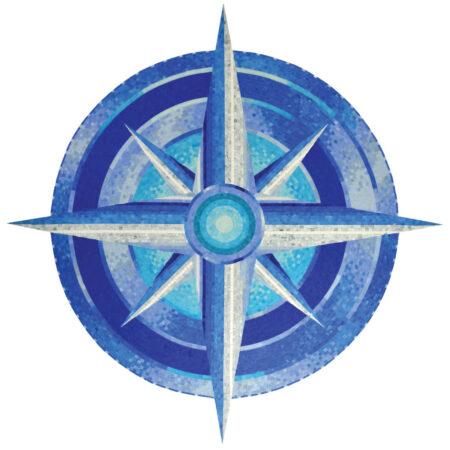 Compass (G-COM) 60″x60″