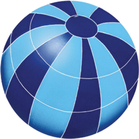 BEACH BALL 11″ BLUE (BBABLUM)