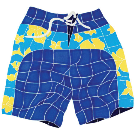 BOARD SHORTS BLUE (BSHBLUOM) 20″x21″