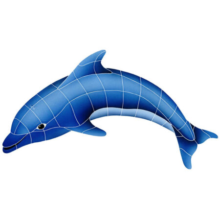 DOLPHIN LEFT 18″ x 30″ (DOLBLULS)