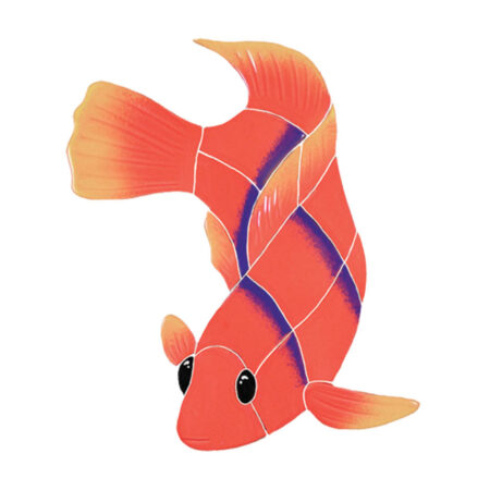 FLAME ANGEL FISH (AFFORALL) 14″X10″