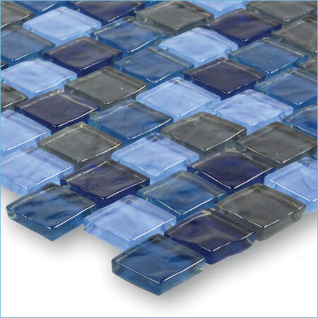 Blue Turquoise Slate Blend 1×1 (GA62323B1)