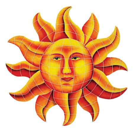 CELESTIAL SUN (CSUYELM) 24″x24″