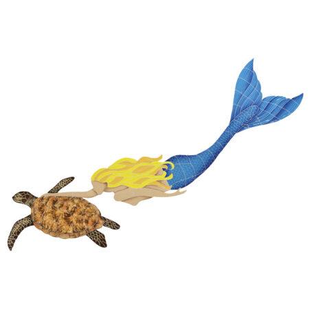 MERMAID WITH TURTLE