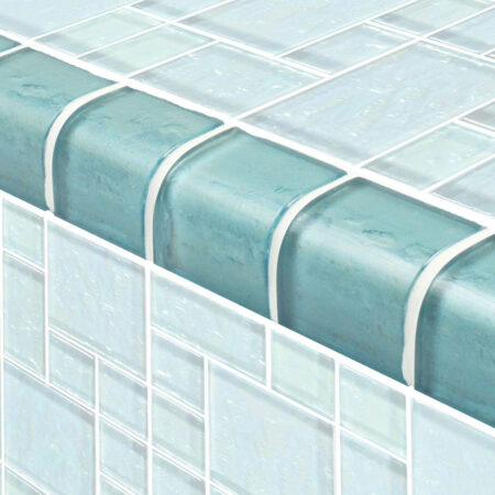 TURQUOISE TRIM MIXED 2X2 (TRIM-GG8M2348T6)