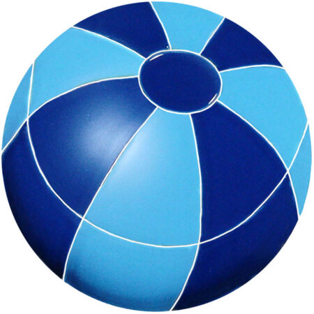 BEACH BALL 7″ BLUE (BBABLUS)