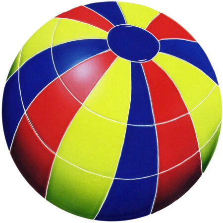 BEACH BALL 11″ MULTI COLOR (BBAMCOM)