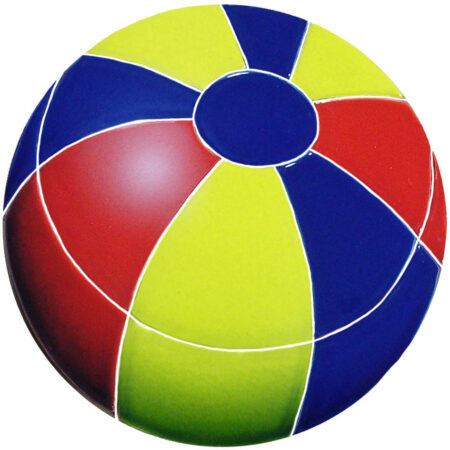 BEACH BALL 7″ MULTI COLOR (BBAMCOS)