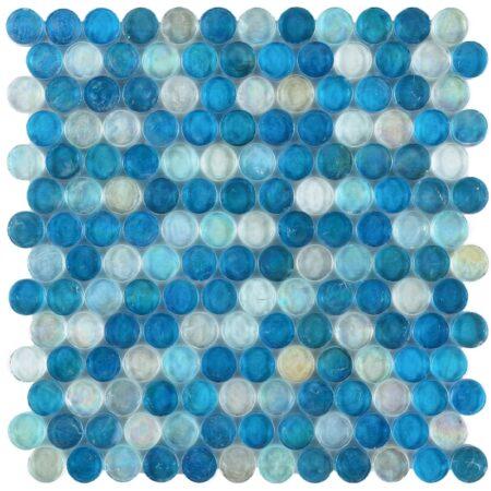 Malibu Ocean Penny 12.25″ x 12.25″