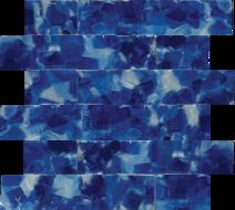 BlUEBELL IRIS BLEND GLASS 2×2