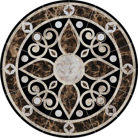 Baroque Medallion 2 36″ Diameter
