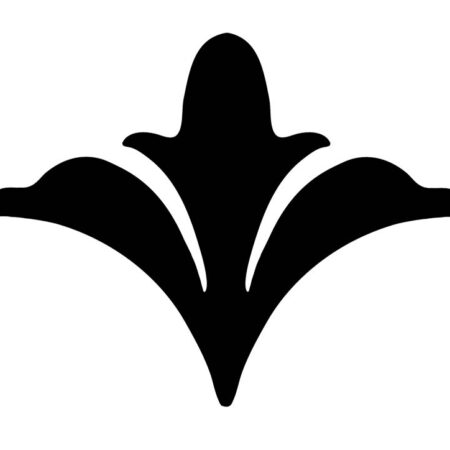 Scroll Flower Step Marker – (SET OF x3) 3.5″ x 3.5″