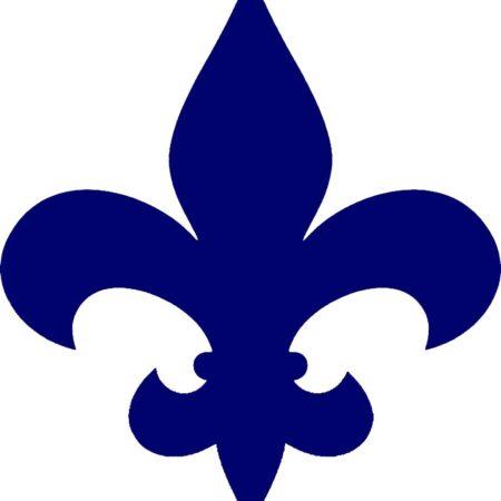 Fleur De Lis Step Marker –  (SET OF x3) 3.5″ x 3.5″