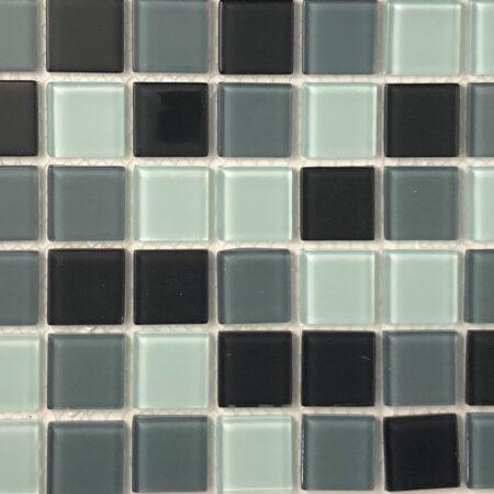 1″x1″ black pattern