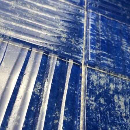 ANTILLAS BLUE & WHITE 3″x 3″