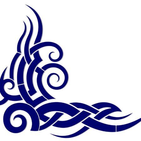 Tribal Wave – 34″ x 33″ x 28″