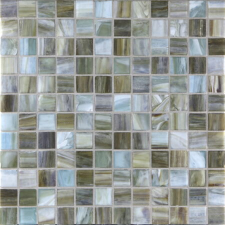 Agate 1 x 1 Mosaic / Color – Firenze Pearl