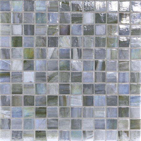 Agate 1 x 1 Mosaic / Color – Lucca Pearl