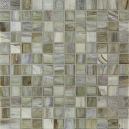 Agate 1 x 1 Mosaic / Color – Vicenza Pearl