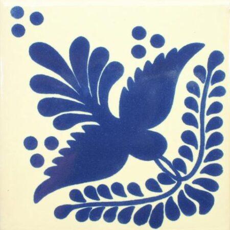 CERAMIC MEXICAN TILE – BLUE BIRD