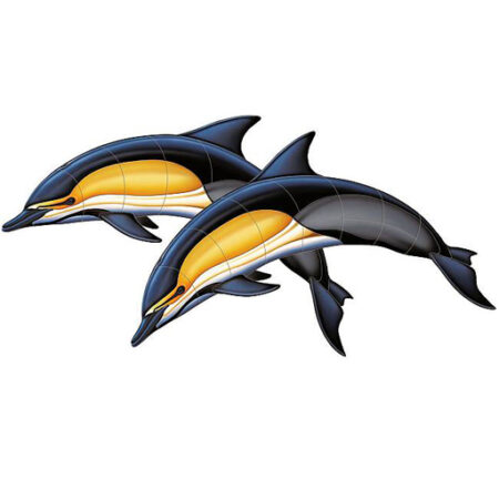 Common Dolphin – A Double 57″x28″ PORC-CD50D-42