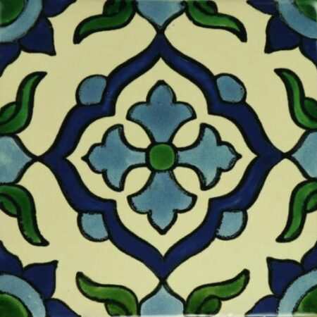 CERAMIC MEXICAN TILE – CRUZ AZUL