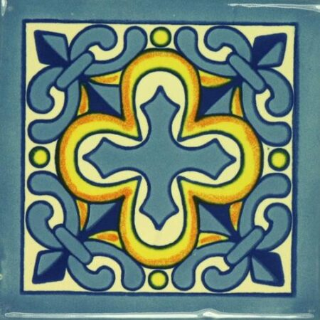 CERAMIC MEXICAN TILE – CRUZ DE LUZ
