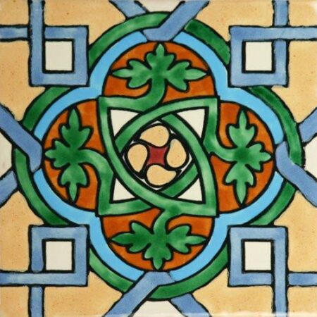 CERAMIC MEXICAN TILE – ENTRALAZADO