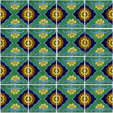 CERAMIC MEXICAN TILE – FANDANGO