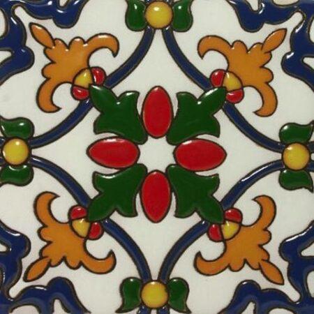 CERAMIC MALIBU STYLE MEXICAN TILE – FIESTA INVIERNO