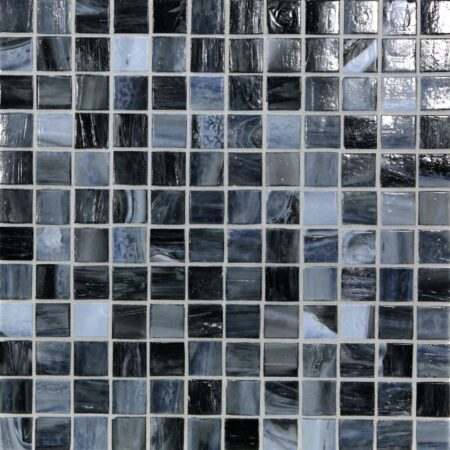 Shibui 1 x 1 Mosaic / Color – Sevres Blue Natural