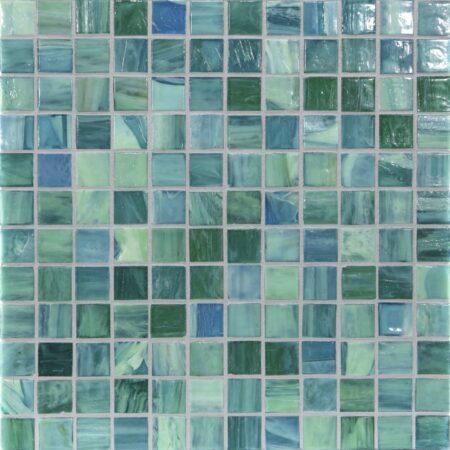 Shibui 1 x 1 Mosaic / Color – Turquoise Natural