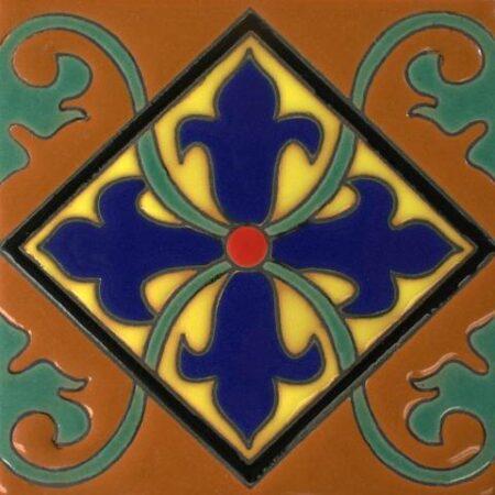 Ceramic Malibu style Mexican Tile – Chalco Gloss