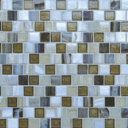 Tommy Bahama® 1 x 1 Offset Mosaic / Color – Atacama