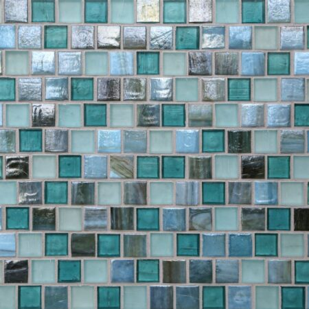 Tommy Bahama® 1 x 1 Offset Mosaic / Color – Raja Ampat