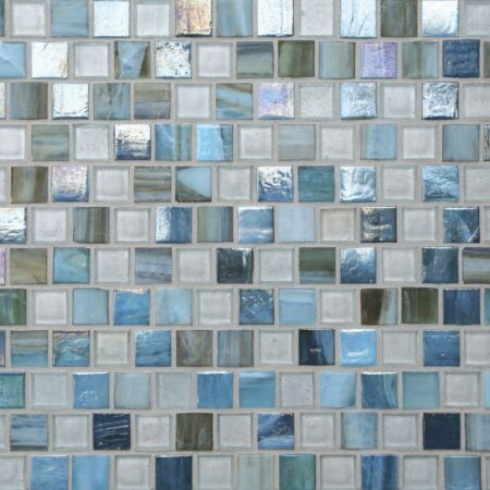 Tommy Bahama® 1 x 1 Offset Mosaic / Color – Surin