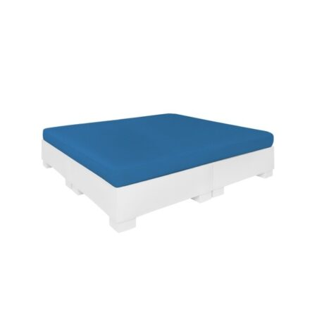 AFFINITY SQUARE SUNBED WITH FLAT CUSHION