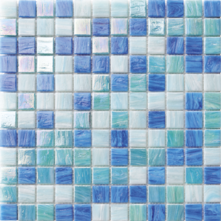 S1912 CASCADE BLUE BLEND 1X1