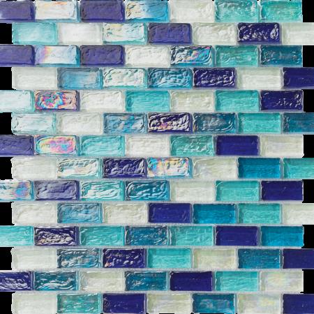 S1921  OCEAN BLUE BLEND 1X2