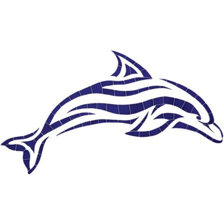 Islander Dolphin DISBLUL 20″ x 42″