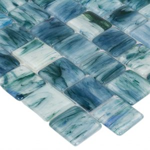 AQUA ART OCEAN GLASS EMERALD COAST 2X2