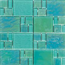 PIAZZA SERIES Random Glass Mosaic
