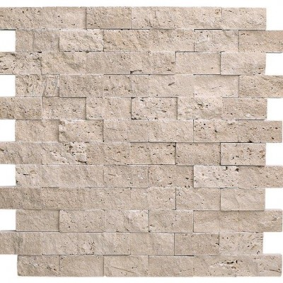 Ivory Travertine Split Face 2×4