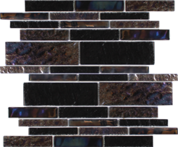 Blackstone Random Linear Glass Mosaic
