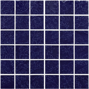 Cobalt  2×2 Mosaic 12×12 Sheet  ​(1 Pc per SF)