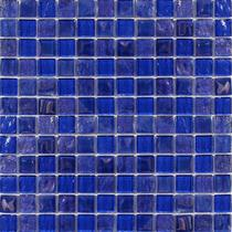 Aquatica Cobaltstone  1×1 Glass Mosaic