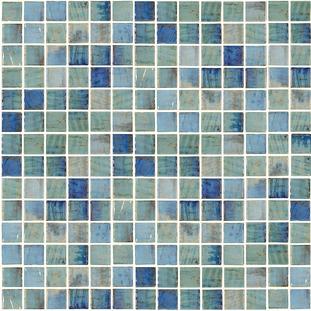 Forest Blue   1×1 Mosaic 12¼ x 18⅜ Sheet
