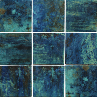 Green Porcelain Tile  6×6  (Range Shown)