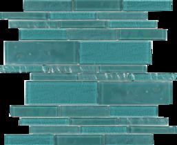 Greenstone  Random Linear Glass Mosaic