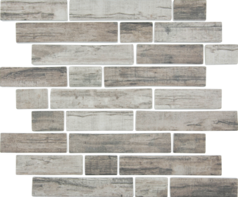 Linden  ​Multi-Linear Mosaic  11.75×11.75 Sheet (1.04 Pcs per SF)